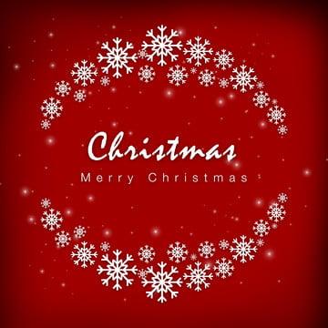 크리스마스 눈송이 빨간색 따뜻한 기쁨 배경 , 크리스마스, 눈송이, 빨간색 배경 이미지