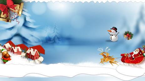 Christmas Snowman Ad Background, Advertising Background, Snow Scene, Winter, Background image