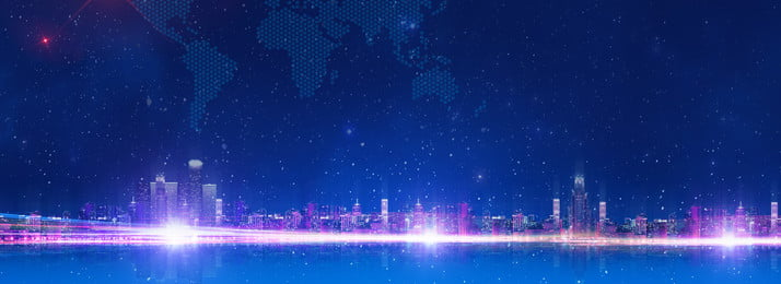 City Banner Background Effect,night,technology, City Banner Background, Effect, Night, Background image