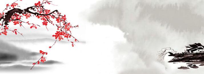 古典的な中国風インクの風景の背景 インク風景の背景 中国風の背景 古典的な背景 背景画像