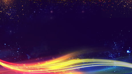 Color Cool Light Effect 2019 Thiết kế nền hội nghị thường niên của công ty Hiệu ứng ánh Kỳ 2019 Nền Hình Nền