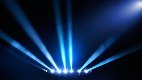 화려한 파란색 최소한의 배경, 푸른 빛, 배경, 무대 조명 배경 이미지
