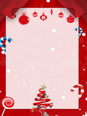 colorful christmas red background , Colorful Christmas, Red Background, Christmas Decoration Background image