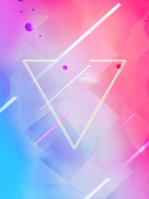 colorful gradient geometric triangles background , Color, Universe, Technology Background image