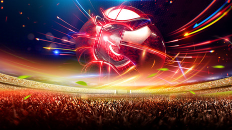 cool football carnival night world cup background design, Cool Background, World Cup Background, Football Match Background image