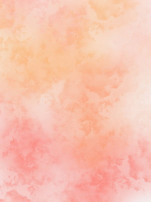 Coral Orange Color Gradient Ink Watercolor Background, Coral Orange, Orange, Orange Pink, Background image