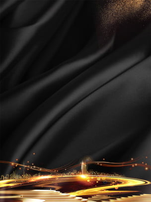 Corporate culture black gold atmosphere dream future , Corporate Culture Background, Black Gold Background, Atmospheric Background Background image