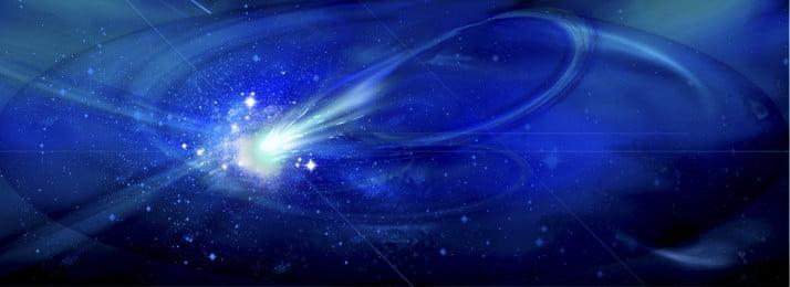 gradiente de sonho estrelado cósmico, Tom Azul, Mapa De Impacto, Transformação Tecnológica Imagem de fundo