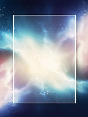 creative aesthetic aurora star nebula background , Creative, Beautiful, Starry Sky Background image