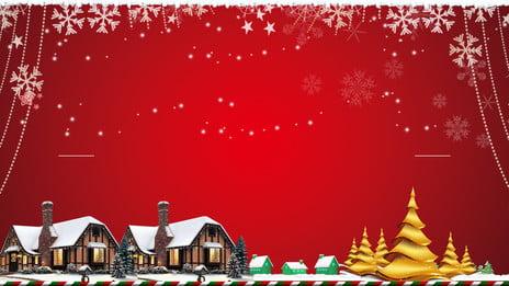 Sáng tạo giáng sinh bông tuyết đỏ chất liệu nền Sáng Tạo Bông Hình Nền