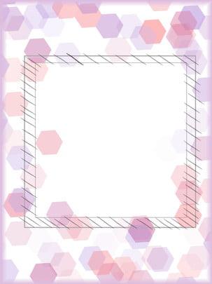 크리 에이 티브 기하학적 보라색 우아한 배경 자료 , 자주색 조리개, 보라색 다각형 재질, 단순 소재 배경 이미지