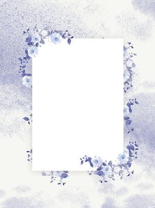 रचनात्मक साहित्यिक सीमा पुष्प पृष्ठभूमि , फूल, बॉर्डर बैकग्राउंड, वातावरण पृष्ठभूमि छवि