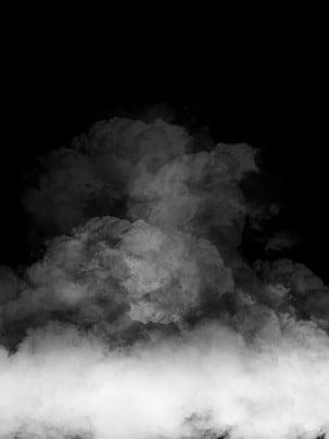 fond noir fumée minimaliste créatif , Créatif, Simple, Fumée Image d'arrière-plan