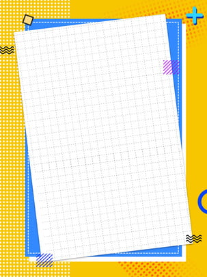 creative yellow pop style geometric background , Creative, Pop Wind, Geometric Background image