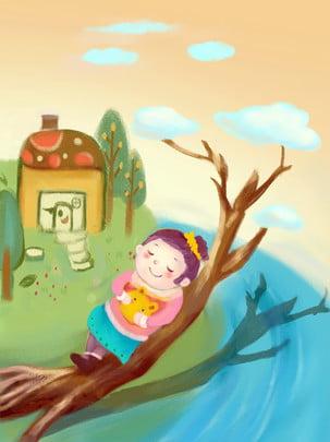 おとぎ話の世界を治す , 治療法, おとぎ話の王国, ピンク 背景画像