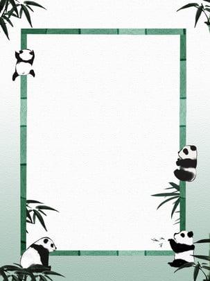 प्यारा जानवर पांडा बांस सीमा पृष्ठभूमि , पशु, पांडा, सुंदर पृष्ठभूमि छवि