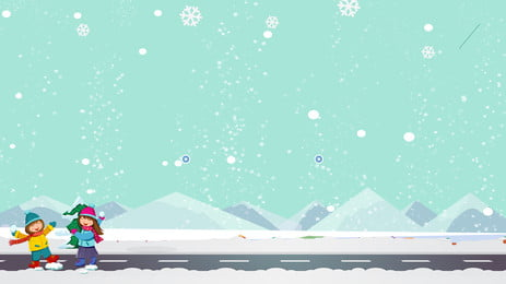 latar belakang pengiklanan ski anak lucu, Latar Belakang Pengiklanan, Gunung Salji, Berski imej latar belakang