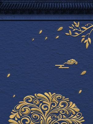 贅沢なゴールドパターン広告の背景 広告の背景 中華風 文学 背景画像
