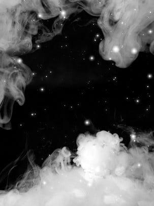 fantasy minimalist white irregular smoke background , White Background, Smoke Background, Irregular Background Background image