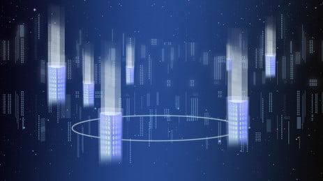 Фэнтези технологии silver line рекламный фон, Рекламный фон, Технологический смысл, Наука и технологии Фоновый рисунок