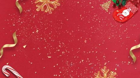 giáng sinh lễ hội vàng ruy băng confetti thiết kế nền, Lễ Hội, Tinh Tế, Giáng Sinh Ảnh nền