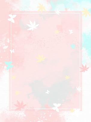 hoa bướm bong bóng nhỏ trong lành nền thời trang rất đơn giản , Tươi Tỉnh Nhỏ, Thời Trang, Rất đơn Giản Ảnh nền