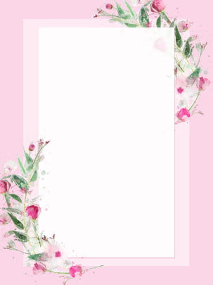 花ピンクのボーダーの背景 花と植物 植物 単純な バックグラウンド 国境 フラワーフレーム 花 花と植物 植物 単純な 背景画像