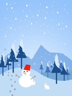 tươi tỉnh december chào hoạt hình thiết kế nền tuyết , Tuyết Rơi, Về Mùa đông., Băng Tuyết Ảnh nền