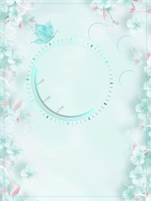 ताजा और सुरुचिपूर्ण नीले फूल विज्ञापन पृष्ठभूमि , विज्ञापन की पृष्ठभूमि, नीली पृष्ठभूमि, ताज़ा पृष्ठभूमि छवि