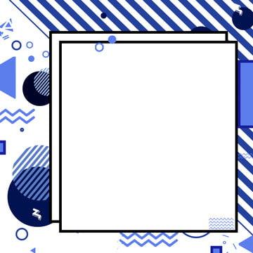 新鮮なブルーメンフィス風の幾何学的な背景 , 新鮮な, バックグラウンド, メンフィス 背景画像