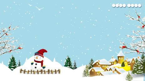 ताजा क्रिसमस हिमपात माउंटेन विज्ञापन पृष्ठभूमि, विज्ञापन की पृष्ठभूमि, नीली पृष्ठभूमि, हिमपात का एक खंड पृष्ठभूमि छवि