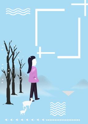 ताजा दिसंबर लड़की पृष्ठभूमि डिजाइन , हैलो दिसंबर, दिसंबर में नमस्कार, नीली पृष्ठभूमि पृष्ठभूमि छवि
