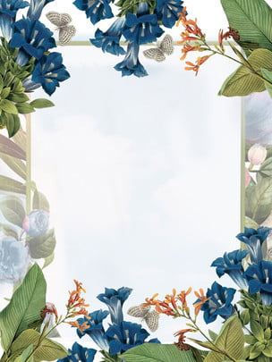fresh flower real estate panels background , Business Center Background, Grand Opening Background, Real Estate Advertising Background Background image