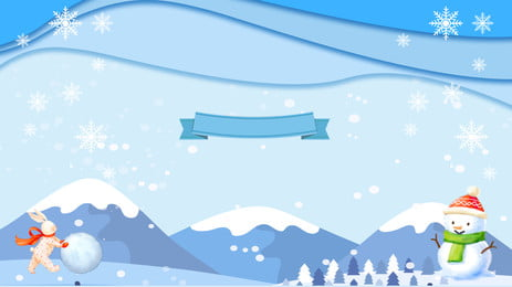 nền rừng tuyết tươi quảng cáo, Nền Quảng Cáo, Bông Tuyết, Người Tuyết Ảnh nền