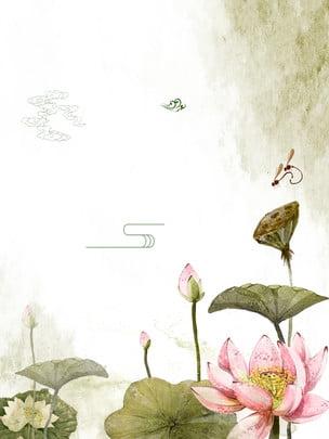 新鮮な芸術の蓮の花の広告の背景 , 広告の背景, 文学, 花 背景画像