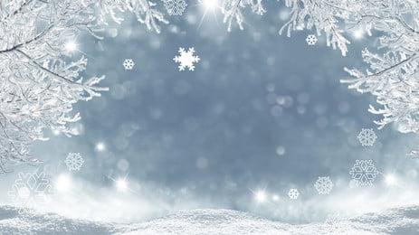 tươi tỉnh quảng cáo nền băng, Tuyết Rơi, Mùa Đông, Quảng Cáo Nền Ảnh nền