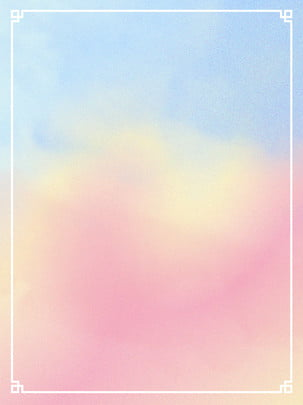 tươi mát ngọt màu nước được đổ dốc màu viền màu nền , - Màu, Đổ Dốc Màu, Dễ Thương Ảnh nền