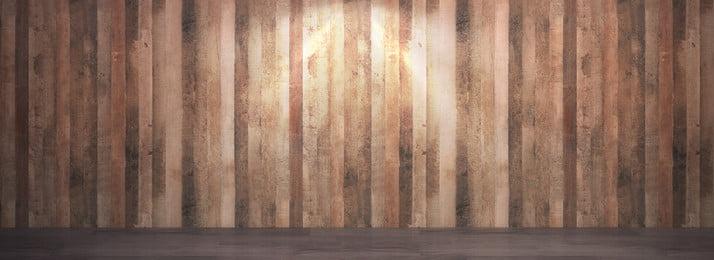 latar belakang kayu ruang penuh 3d, Ruang, Dinding Latar Belakang, Gandum Kayu imej latar belakang