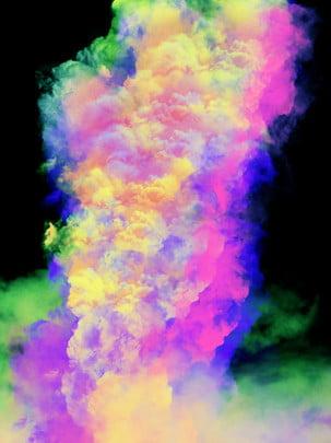 全抽象煙霧背景 , 煙霧, 彩色, 抽象背景 背景圖片