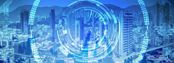 फुल एनीमे स्टाइल टेक्नोलॉजी सिटी आर्किटेक्चर बैकग्राउंड, विज्ञान और प्रौद्योगिकी, शहर, इमारत पृष्ठभूमि छवि