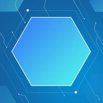 पूर्ण नीली ढाल रेखा पृष्ठभूमि , लाइन, षट्कोण, क्रमिक परिवर्तन पृष्ठभूमि छवि