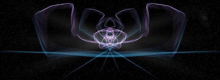 पूर्ण नीले बैंगनी ढाल शांत प्रकाश प्रभाव बैनर पृष्ठभूमि ब्लू वायलेट ग्रेडिएंट पृष्ठभूमि छवि