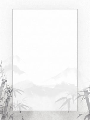 フル中国風のレトロなペンとインクの風景 , 中国風の背景, ペンとインク, 風景の背景 背景画像