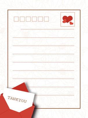完全に明確な封筒の背景 , 明確な封筒の背景, 赤い文房具, 愛の封筒の背景 背景画像