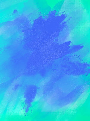 full dreamy color gradient fresh splashing brush watercolor background , Fantasy Color, Splash, Splash Brush Background image