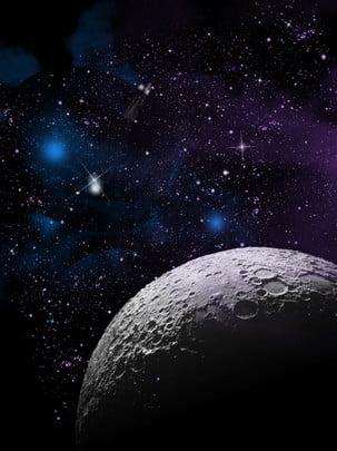 bản đồ nền vũ trụ tương lai đầy đủ , Không Gian, Đêm, Bầu Trời đầy Sao Ảnh nền
