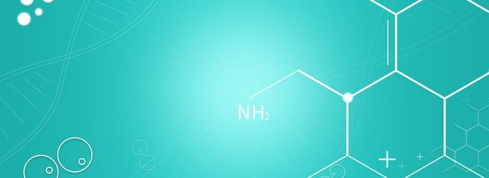 full green dna molecule medical background, Dna, Molecular Structure, Medical Background image