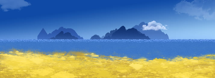 Full Sea Level Background level,ocean Background,beach Background,small, Island, Blue, Sky, Background image