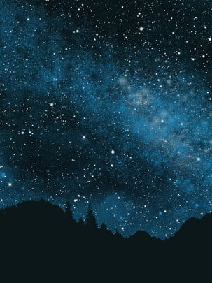 full starry night sky background , Night, Night Sky Background, Astronomical Starry Sky Background image