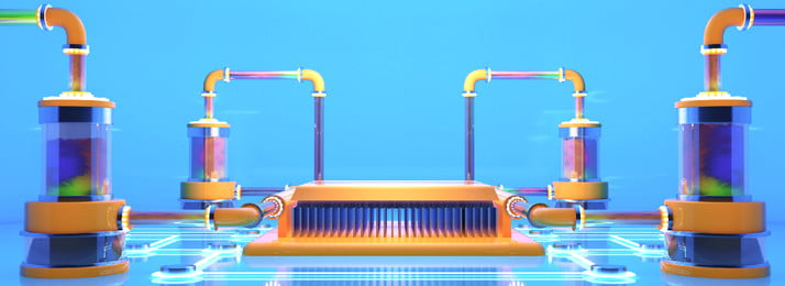 Full Style Technology And Water Cooling And Cooling Creative Background Cooling,c4d,rendering,creative,exaggeration,3d,poster,background,banner,computer,graphics Card,cpu,cool Down,cool, Down, Diy, Only, Background image